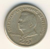 PHILIPPINES 1968: 25 Sentimos, KM 199 - Philippines