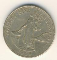 PHILIPPINES 1966: 25 Centavos, KM 189 - Philippines