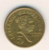 PHILIPPINES 1974: 5 Sentimos, KM 197 - Philippines