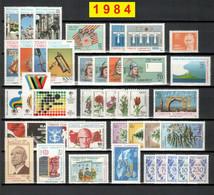 TURCHIA 1984 Annata COMPLETA 42 Fbolli Nuovi - Annate Complete