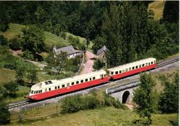 NUCES Train 1946 Severac Le Chateau Brive ( Autorail X 4900 Renault ADP D'Aurillac ) RV - Otros Municipios