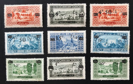 GRAND LIBAN 1926 - NEUF*/MH - Série Complète YT 75 / 83 - CV 23 EUR - Neufs