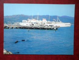 Seaport - Ship - Sukhumi - Abkhazia - 1981 - Georgia USSR - Unused - Georgia