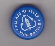 Romania Pepsi Cola Cap - Plastic Cap - Blue - Soda