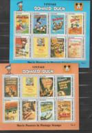 (W576) Guyana Vintage Donald Duck 6 Blocks MNH 1996 - Guyana (1966-...)
