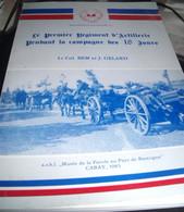 ABL , Le Premier Régiment D'artillerie Pendant La Campagne Des 18 Jours , Lt  Col BEM, J. Gelard - War 1939-45