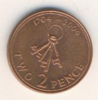 GIBRALTAR 2004: 2 Pence, KM 1044 - Gibraltar