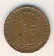 GIBRALTAR 1989: 2 Pence, KM 21 - Gibraltar