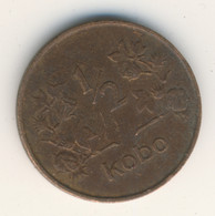 NIGERIA 1973: 1/2 Kobo, KM 7 - Nigeria