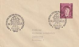 General Gouvernement Lettre Krakau 1943 - Gobierno General