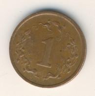 ZIMBABWE 1988: 1 Cent, KM 1 - Zimbabwe