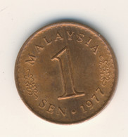 MALAYSIA 1977: 1 Sen, KM 1a - Malaysia