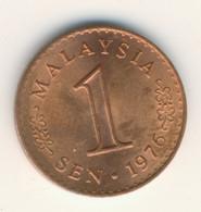 MALAYSIA 1976: 1 Sen, KM 1 - Malaysia