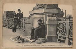 75  PARIS  LES  PETITS    METIERS   DE PARIS  LE MARCHAND  DE  CACAOUETTES - Artigianato Di Parigi