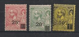 Monaco - 1922 - N°Yv. 51 à 53 - Série Complète - Neuf Luxe ** / MNH / Postfrisch - Ongebruikt