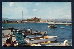 Antibes (A.-M.) - Le Fort-Carré Vu Du Port - Cap D'Antibes - La Garoupe
