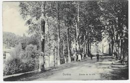 DURBUY : Entrée De La Ville - Petite Animation - 1908 - Durbuy