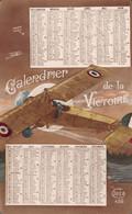CALENDRIER De La Victoire 1917 - Avion - Carte Postale Patriotique - Small : 1901-20