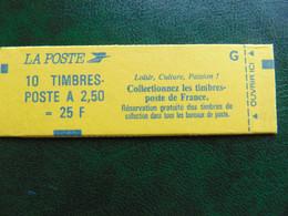 Carnet N°. 2715-C3 Marianne Du Bicentenaire à 2,50 X 10 - Freimarke