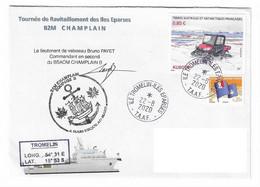 18006 - B2M CHAMPLAIN - TOURNÉES AUX ÎLES EPARSES - ÎLE DE TROMELIN -22-08-2020 - Naval Post