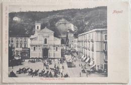 CPA - Napoli - Via Piedigrotta E Chiesa - Naples - Napoli (Nepel)