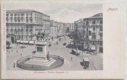 CPA - Napoli - Monumento A Vittorio Emanuele III - Naples - Napoli (Nepel)