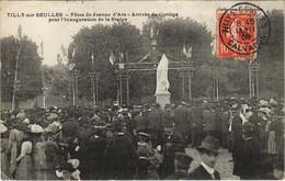 CPA TILLY-sur-SEULLES Fetes De Jeanne D'Arc Arrivée D Cortege 21010 (809550) - Andere Gemeenten