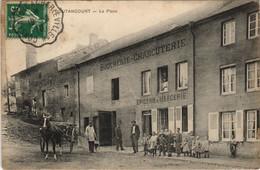 CPA BOUTANCOURT La Place Choucherie-Charcuterie 21004 (809530) - Other Municipalities