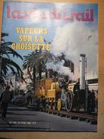Vie Du Rail 1740 1980 Fercam Monteux Rambouillet Eglise St Germain Dourdan Chateau Bordes Vapeur Croisette Cannes - Trains