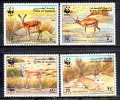 Bahrein 1993 / Mammals Antelope WWF Gazelles Gacelas Mamíferos Säugetiere / Hg62  37-30 - Zonder Classificatie
