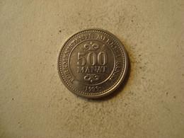 MONNAIE TURKMENISTAN 500 MANAT 1999 - Turkmenistan