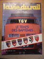 Vie Du Rail 1799 1981 Schiphol Chambery Rambouillet Blanzy Montceau Darcy Cerdagne Saint Omer Gare Eglise - Trains