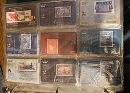 PHONE CARDS BELL CANADA POST GIBRALTAR STAMP ON STAMP UNUSED SEALED 39 CARDS-D - Francobolli & Monete