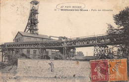 71-MONTCEAU LES MINES-PUITS DES ALLOUETTES-N°521-G/0333 - Montceau Les Mines