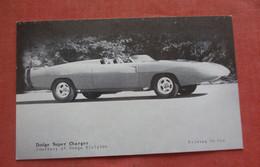 Blank Back     Dodge Super Charger      Ref 4829 - Unclassified