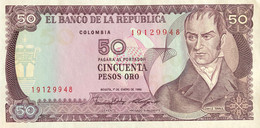 Colombia 50 Pesos Oro, P-425b (1.1.1986) - UNC - Colombia