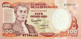 Colombia 100 Pesos Oro, P-426e (1.1.1991) - UNC - Colombia