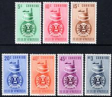 Venezuela 1951 Anzoategui Arms Postage Set Fine Unmounted Mint. - Venezuela