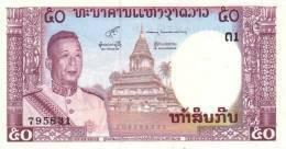 LAOS P. 12a 50 K 1963 UNC (s. 6) - Laos