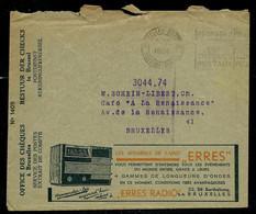 Env. Chèques Postaux: Appareils De Radio ERRES - VITABEL Crème De Beauté En Pharmacie - ( 1936) - Reclame