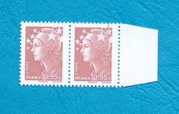 ( 17 ) - MARIANNE De BEAUJARD 0,95 € - ( Griffe Sur Le Bonnet + Avec Bord ) - Voir Scan - - Abarten: 2010-.. Ungebraucht