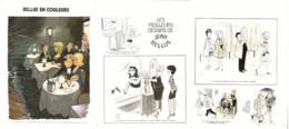 """"""" BELLUS COLOR """" + """" Les MEILLEURS DESSINS De BELLUS """" 1973  ( 9 ) - Sonstige"""