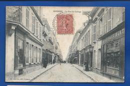 SOISSONS   La Rue Du Collège   Animées  écrite En 1905 - Soissons