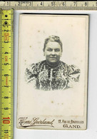 Kl 152 - PHOTO  FEMME - FOTO  VROUW - PHOTOGRAPHIE : HENRI GEIRLAND GAND - Old (before 1900)