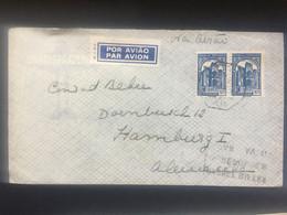 PORTUGAL 1938 Air Mail Cover Lisbon To Hamburg Germany - Cartas