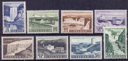 IJsland 1956 Waterval Serie PF-MNH - Ongebruikt
