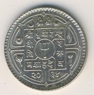 NEPAL 1977: 1 Rupee, 2034, KM 828a - Nepal