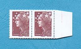 ( 21 ) - MARIANNE De BEAUJARD 2,30 € - ( Griffe En Dessous Du Menton + Avec Bord  ) - Voir Scan - - Abarten: 2010-.. Ungebraucht