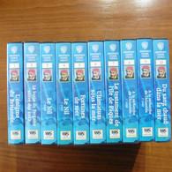 10 Cassettes  VHS L'Odyssée Sous- Marine De L'équipe  Du Commandant  Cousteau - Collections & Sets