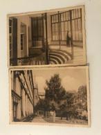 Lot De 2cartes Postales Anciennes (1947)  TOURNAI Pensionnat Ste Ursule 10, Rue Des Carmes - Tournai